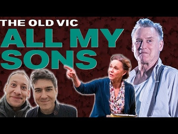 All My Sons Old Vic Review London Sally Field Bill Pullman Arthur Miller