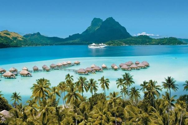 Странные таитянские приливы