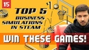 Top 5 business management games from steam ever. Win them!