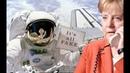 """Merkel stellt Astronauten eine wirklich """"wichtige Frage und erhält """"weltbewegende Information"""