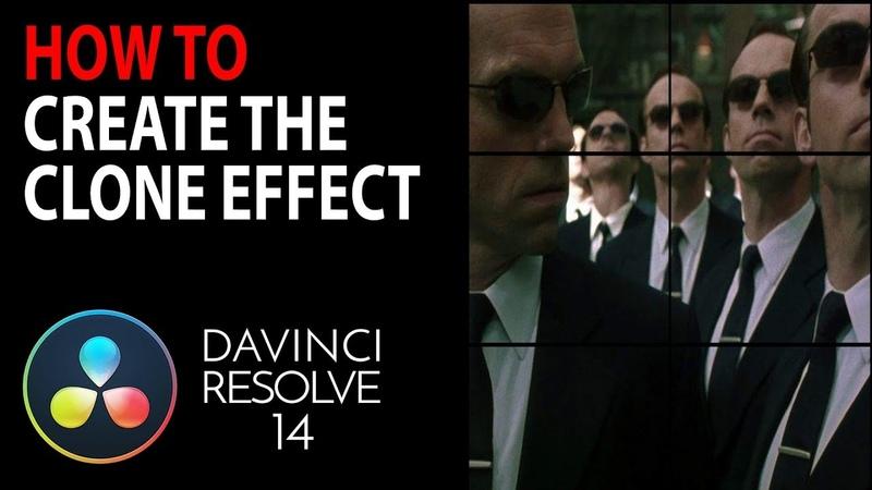 HOW TO: Create a Clone Effect | Davinci Resolve 15 14