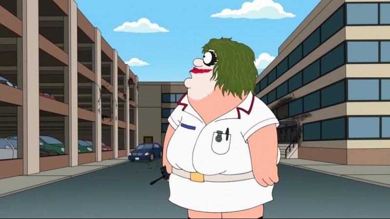 Family Guy S15E06 Joker / Гриффины Питер-Джокер