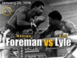 Джордж Форман – Рон Лайл (George Foreman vs. Ron Lyle) 24.01.1976 (4 & 5 round)