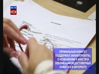 В Госдуме одобрили законы о фейковых новостях и неуважению к власти