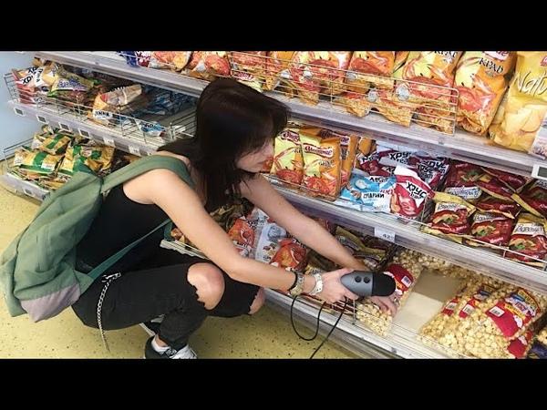 АСМР в гипермаркете ASMR in a hypermarket