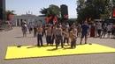 В Севастополе прошла военно патриотическая акция Служу Отечеству