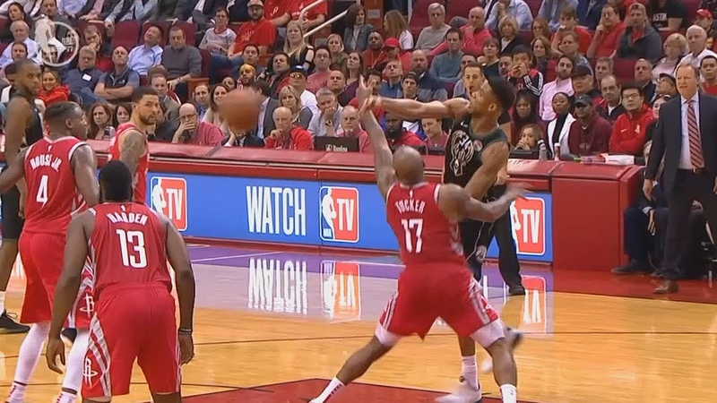 Giannis Wanna Murder James Harden After Hitting Him With The Ball! Rockets vs Bucks