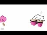 Bongo Cat - Pink Panther