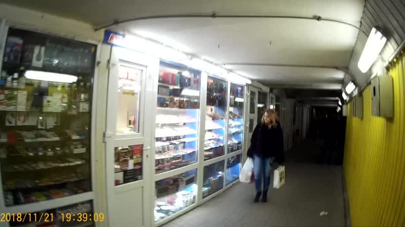 2018_11_21_Подземный пешеходный переход на ост. ул.Народная, ремонт за 2,5 млн.?! Часть №5