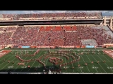 THIS IS SO COOL. Check out The University of Texas Longhorns marching band perform Stitches