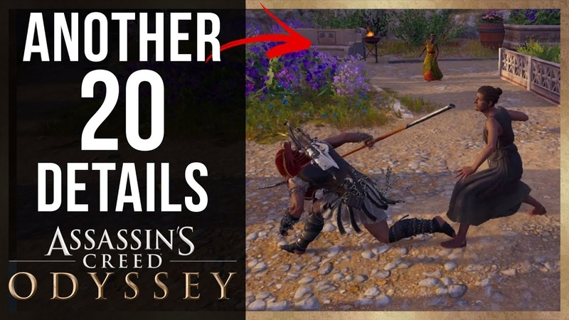 Another 20 AMAZING Details in Assassin's Creed Odyssey