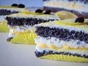 Маковий торт з лимонним курдом Маковый торт с лимонным курдом