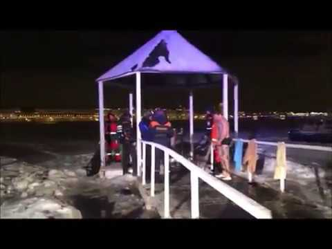 Крещенские купания у Петропавловской крепости 19.01.2019г