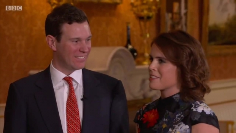 Princess Eugenie and Jack Brooksbank engagement interview