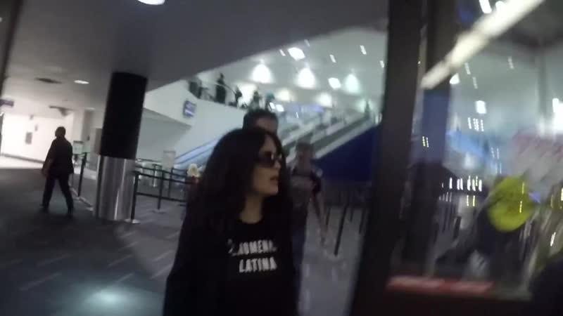 Сальма Хайек в аэропорту LAX | 21118