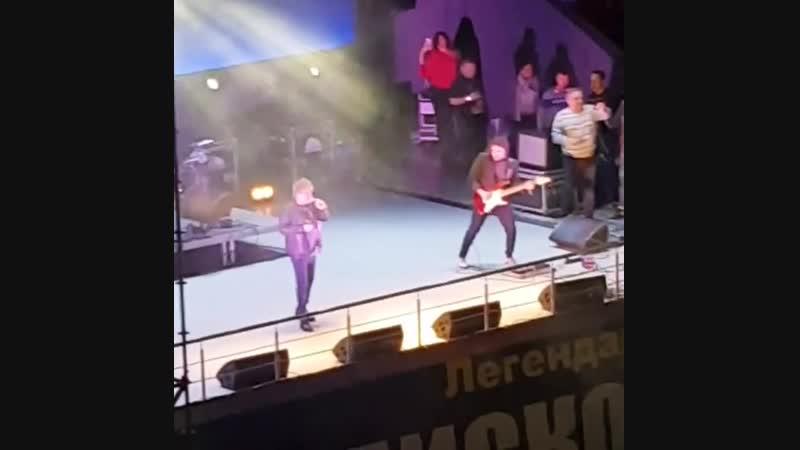 Алексей Глызин. Дискотека 80-90-х в Краснодаре 17.11.18