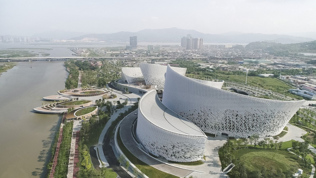The Fuzhou Strait Culture and Art Centre | PES-Architects