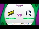 Natus Vincere vs Team Liquid MegaFon Winter Clash bo5 game 2 Maelsorm NS