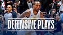 Kawhi Leonard's Best Defensive Plays! | 2018-19 NBA Regular Season Playoffs