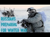Russian Army Goes Native In Freezing Conditions It's Not Russian Winter, It Is Russians