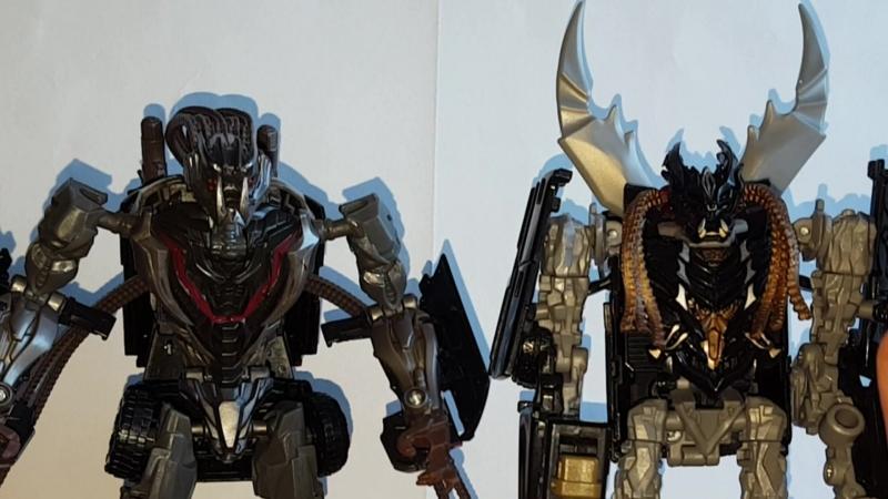 Transformers Crowbar VS Crankcase ComparisonТрансформеры сравнение [Несравнимые]
