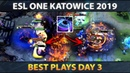Best Plays ESL One Katowice 2019 - Day 3