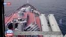 Боевые корабли во главе с гвардейским ракетным крейсером Варяг провели стрельбы в открытом море