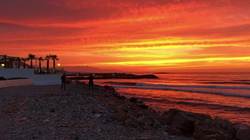 Закат. Греция. Крит. Без фильтров