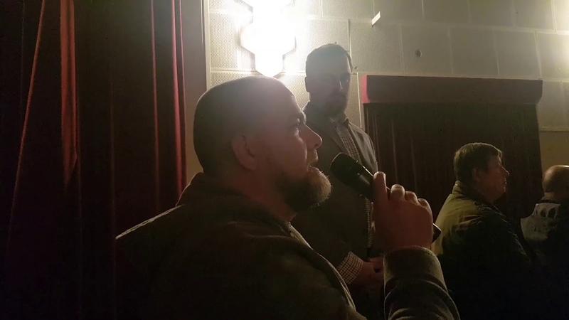 27.11.2018 PEGIDA - Sigi und Lutz in Großenhain bei Sarrazin und Schirmbeck