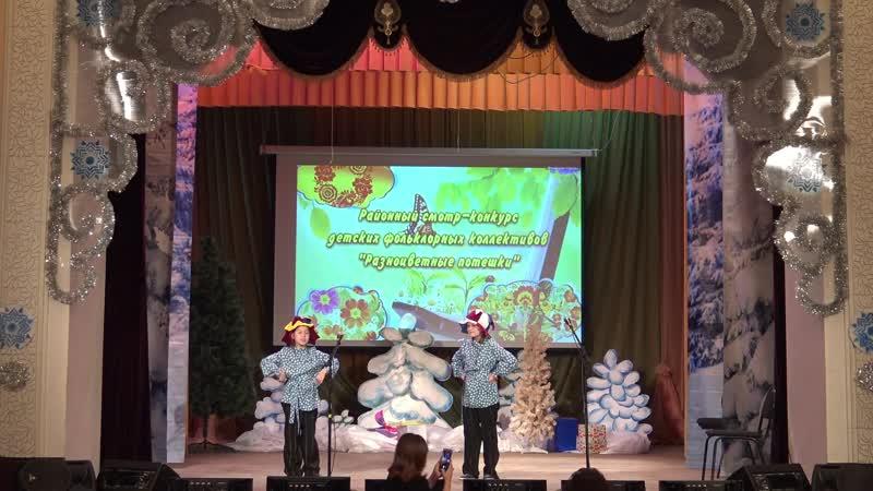 Новоаксубаевский СДК на конкурсе фольклорных коллективов...