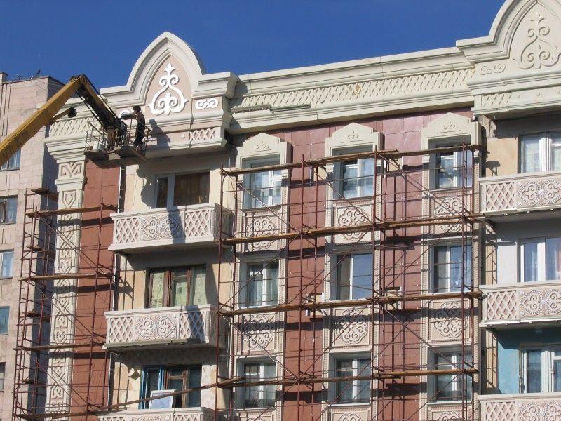 Реконструкция фасадов зданий предполагает изменение архитектурного объема здания, частичную перестройку, изменение внешнего облика дома.