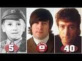 John Lennon Transformation From 1 To 40 Years Old