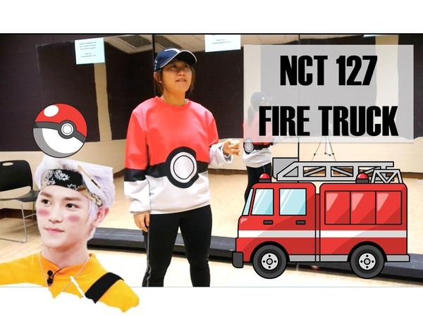 NCT 127 소방차 Fire Truck Dance Tutorial | FULL w mirror [Charissahoo]