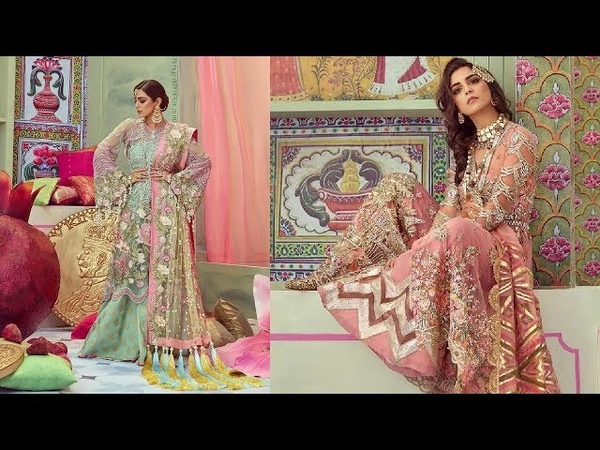 Maya Ali Slaying In Very Beautiful Elegant Dresses Like Princess In Wedding Collection Of Crimson