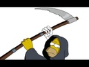 The Simpsons, Homer and The Grim Reaper