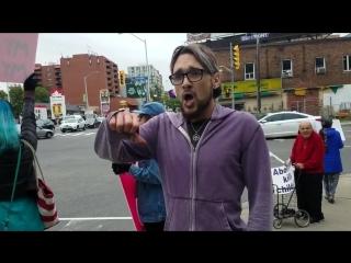 Мужик пришёл на акцию против абортов и доходчиво объяснил, почему аборты нужны