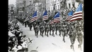 Famous American Military Marches Footage parades World War I