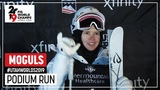 Yulia Galysheva Gold Medal Ladies' Moguls FIS Freestyle Ski World Championships