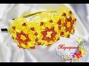 Яркий ОБОДОК КАНЗАШИ с цветами Жар птица 🌸 Kanzashi Headband