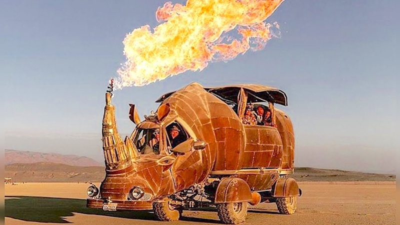 Burning man 2018, Вся правда о Burning Man? [Часть 6]