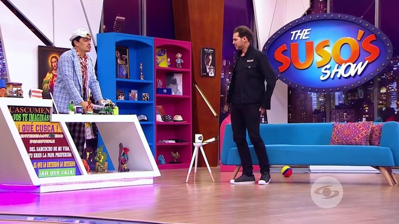 Juan Alfonso El Gato en The Susos Show Caracol TV