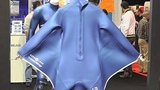 Underwater Wet Suit Allows Diver to 'Fly'