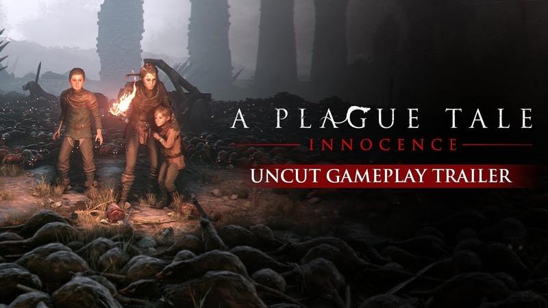 GAMESCOM 2018 A Plague Tale Innocence Uncut Gameplay Trailer