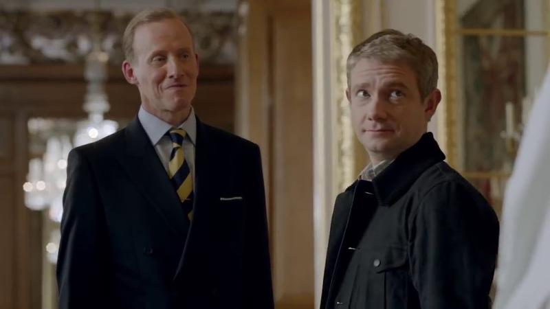 Шерлок и Джон в Букингемском дворце