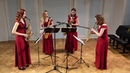 J.S. Bach - Italian Concerto, 1 mov. | SIRENES SAXOPHONE QUARTET