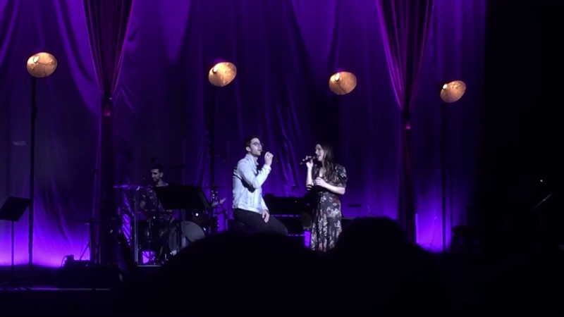 Darren Criss and Lea Michele- Getaway Car (LMDC Tour Manchester)