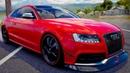 Мультики про машинки Audi RS 5. Цветные Машинки и Песенки для детей. Супер гонки для мальчиков