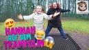AUF DEM SPIELPLATZ im Wald Trampolin springen Seilbahn fahren ♥ Hannah Spezial