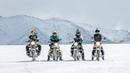 History Created | Motorcycle ride to frozen Pangong Lake | -15° | Winter Ladakh |