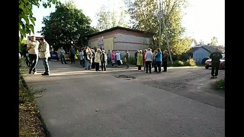 Пикет возле прокуратуры/Волоколамск/18.9.18
